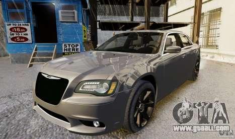 Chrysler 300 SRT8 2012 for GTA 4