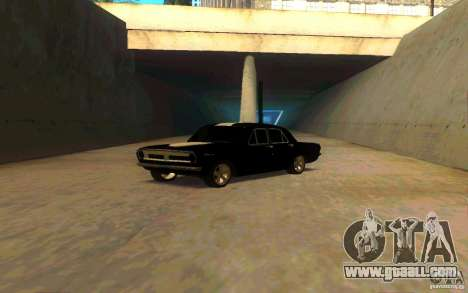 GAZ 2410 PLYMOUTH for GTA San Andreas back left view