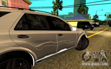 Mercedes-Benz ML63 AMG W165 Brabus for GTA San Andreas