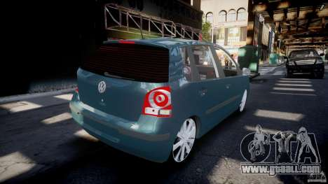 Volkswagen Polo 1998 for GTA 4 upper view