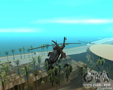 Ka-50 Black Shark for GTA San Andreas