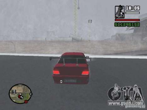 VAZ 2115 TUNING for GTA San Andreas right view