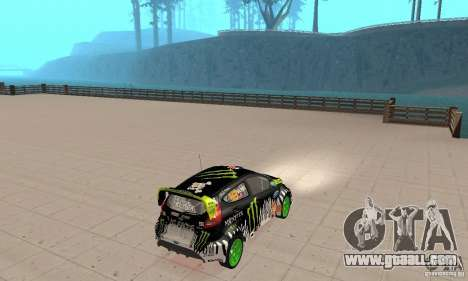 Ford Fiesta 2011 Ken Blocks for GTA San Andreas left view