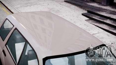 Subaru Forester v2.0 for GTA 4 bottom view