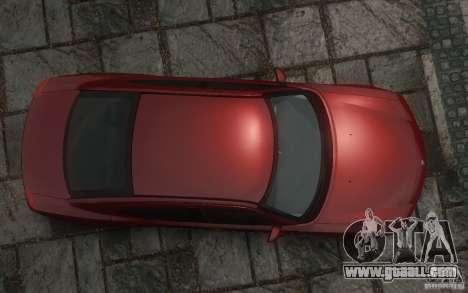Dodge Charger RT Hemi 2008 for GTA 4 bottom view
