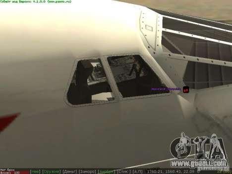 Concorde [FINAL VERSION] for GTA San Andreas left view