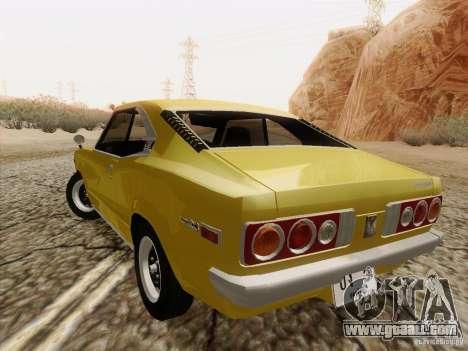 Mazda Savanna RX3 for GTA San Andreas back view