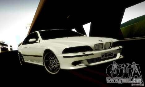 BMW M5 e39 for GTA San Andreas