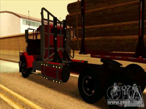Western Star 4900 for GTA San Andreas back left view