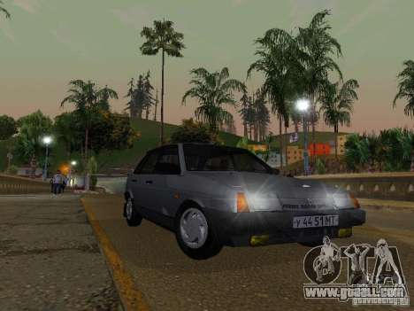 Vaz 2109 Sputnik for GTA San Andreas