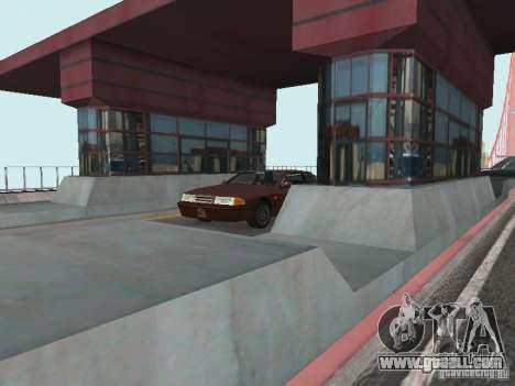 Bridge Pay for GTA San Andreas second screenshot