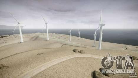 Wind Farm Island - California IV for GTA 4 forth screenshot