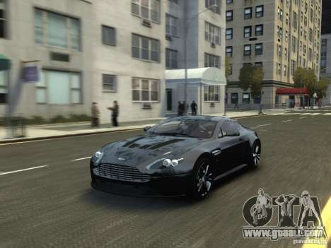 Aston Martin V12 Vantage 2010 V.2.0 for GTA 4 right view