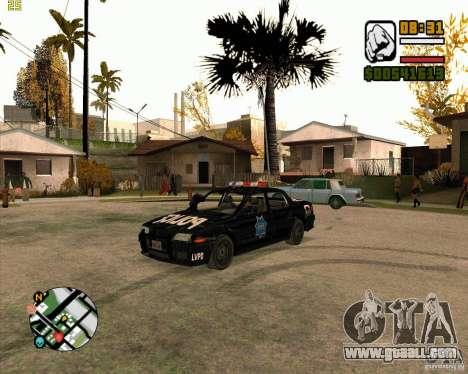 Police car of NFS: MW for GTA San Andreas