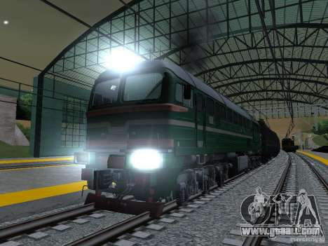 RAILROAD modification III for GTA San Andreas sixth screenshot