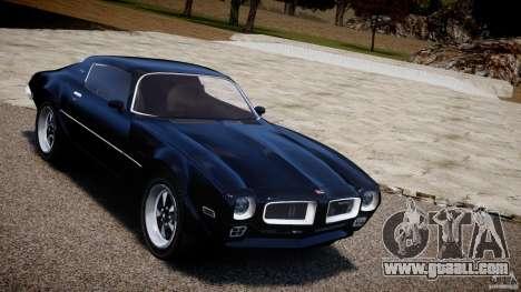 Pontiac Firebird Esprit 1971 for GTA 4