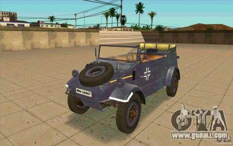 Kuebelwagen v2.0 normal for GTA San Andreas