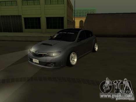 Subaru Impreza STI hellaflush for GTA San Andreas