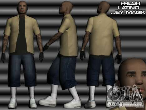 The new Latinos for GTA: SA for GTA San Andreas