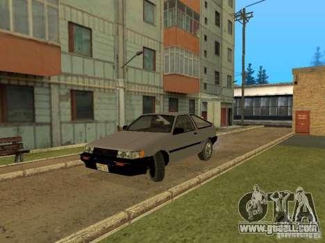 Toyota Corolla AE85 Levin GT-Apex for GTA San Andreas