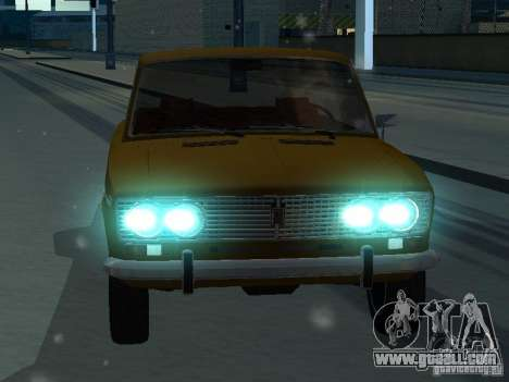 VAZ 2103 Convertible for GTA San Andreas back view