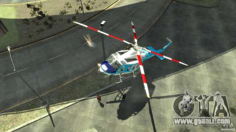 NYPD Bell 412 EP for GTA 4 left view