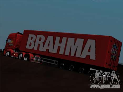 Trailer for Scania R620 Brahma for GTA San Andreas bottom view