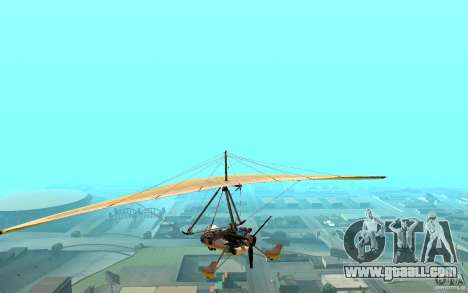 Hang Glider for GTA San Andreas left view