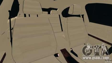 BMW 330i E92 for GTA 4 inner view