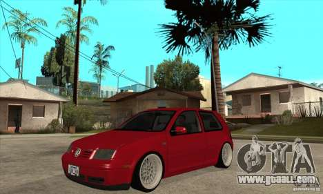 VW Golf 4 V6 Bolf for GTA San Andreas