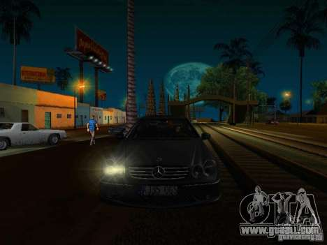 Mercedes-Benz CLK55 AMG for GTA San Andreas right view