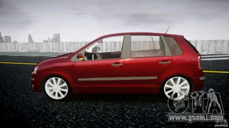 Volkswagen Polo 1998 for GTA 4 left view
