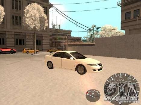 Mazda 6 2004 for GTA San Andreas right view