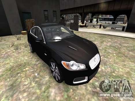Jaguar XFR for GTA 4 side view