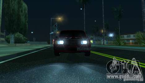 VAZ 2107 Gangsta for GTA San Andreas right view