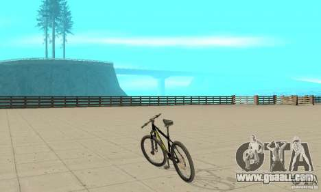 GT Dirtbike v.2 for GTA San Andreas left view