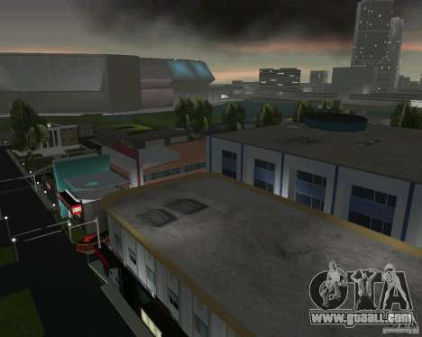 Back to the future Hill Valley for GTA Vice City sixth screenshot