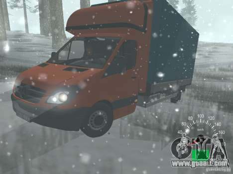 Mercedes-Benz Sprinter 518 MAXI 2007 for GTA San Andreas right view