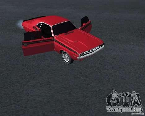 Dodge Chellenger V2.0 for GTA San Andreas right view