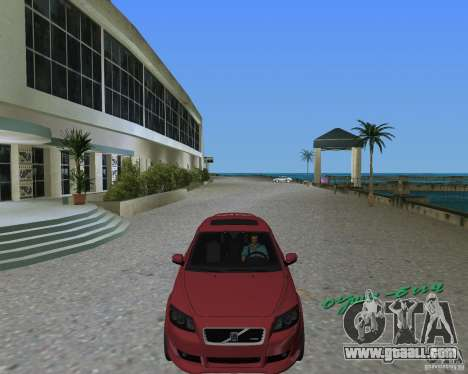 Volvo C30 for GTA Vice City right view