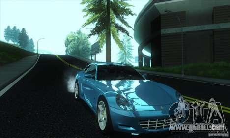 Ferrari 612 Scaglietti for GTA San Andreas back view
