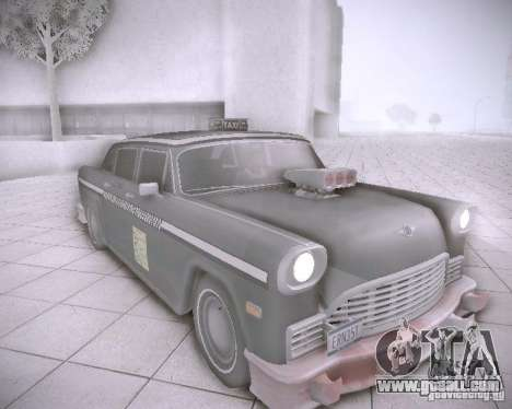Diablo Cabbie HD for GTA San Andreas left view