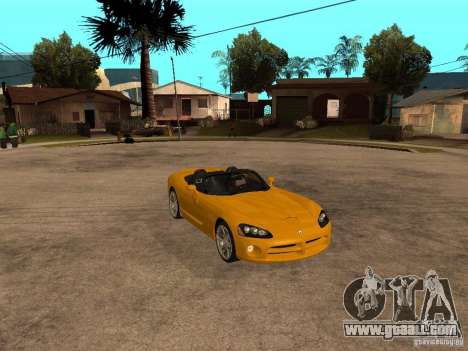 Dodge Viper SRT10 Impostor Tuning for GTA San Andreas right view