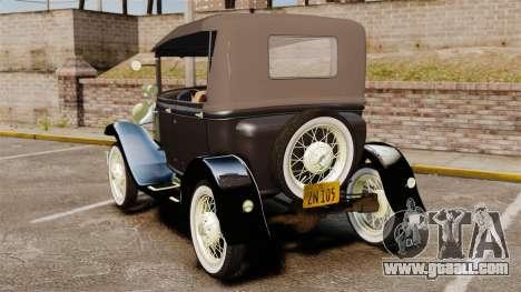 Ford Model T 1924 for GTA 4 back left view