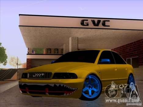 Audi S4 DatShark 2000 for GTA San Andreas upper view