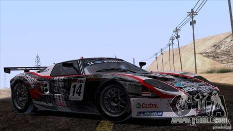 Ford GT Matech GT3 Series for GTA San Andreas engine