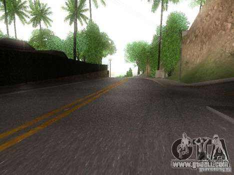 Modification Of The Road for GTA San Andreas second screenshot