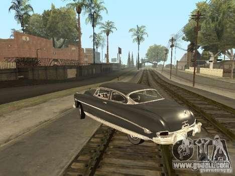 Hudson Hornet 1952 for GTA San Andreas upper view