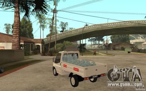 Ford Transit Pickup 2008 for GTA San Andreas back left view