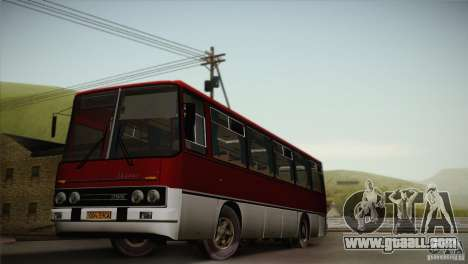 IKARUS 255.01 for GTA San Andreas side view